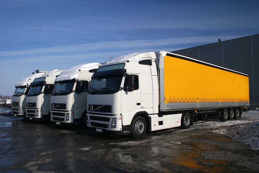 bigstock_Yellow_Trucks_3890260